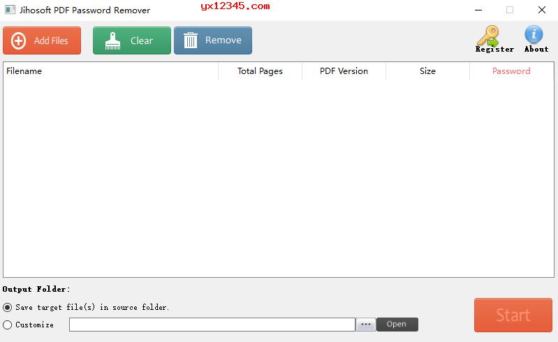 PDF密码批量移除工具_jihosoft PDF Password Remover