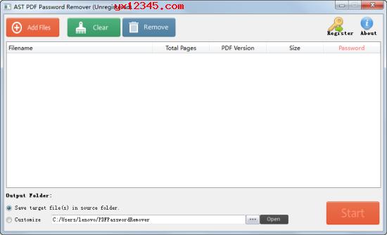 从PDF中删除用户/打开密码教程