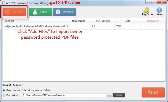 从PDF中删除所有者/权限密码教程