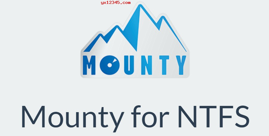 Mounty for NTFS软件海报